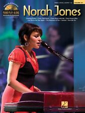PLAY PIANO WITH NORAH JONES SHEET MUSIC SONG BOOK W/CD
