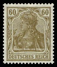 EBS Germany 1920 Germania 60 Pfennig Michel 147II MNH**