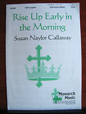 Rise Up Early in the Morning -2003 sheet music gospel - SATB vocal a cappella