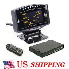 Advance Zd 10 In 1 Auto Gauge Oled Digital Tachometer Full Package Sensor Kits
