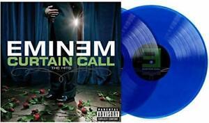 "Eminem - Curtain Call The Hits 12"" 2LP Exclusive Translucent Blue Vinyl"