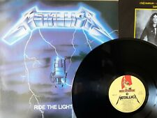 Metallica – Ride The Lightning (Music For Nations – MFN27) 1St Press LP NM