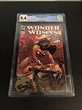 Wonder Woman #169 CGC 9.4 Newsstand Variant Adam Hughes