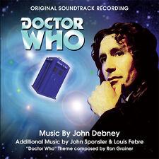 John Debney: DOCTOR WHO-1996 TV Movie soundtrack CD