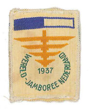 1937 World Scout Jamboree OFFICIAL PARTICIPANTS SUBCAMP VII Patch