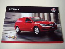 Vauxhall . Astra . Vauxhall Astravan . 2012 Models Edition 1 Sales Brochure