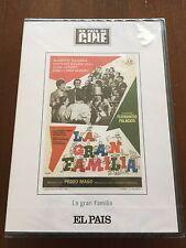 LA GRAN FAMILIA - UN PAIS DE CINE - DVD - 104 MIN - NEW SEALED - NUEVA EMBALADA