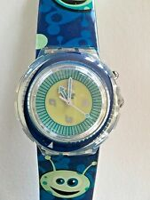 """SWATCH WATCH """"BUBBLE BLUP"""" SDK916 RARE NEW COLLECTABLE GREAT GIFT NIB MINT"""