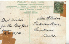 Genealogy Postcard - Milne - Waterlow Place - Crowthorne - Berkshire - 3907A
