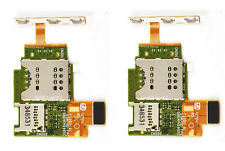 2x SIM SD Memory Card Reader Slot Holder Flex Cable For Sony Xperia J ST26 ST26i