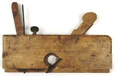 Vintage Complex Molding Plane Carpenter's Wooden Tool