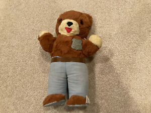 "Vintage 1960s Ideal Smokey the Bear 14"" stuffed plush doll"