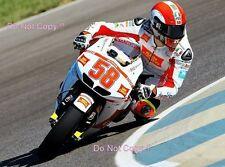 Marco Simoncelli San Carlo Honda Gresini Moto GP Indianapolis 2010 Photograph