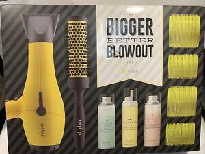 Drybar The Bigger Better Blowout Box Buttercup Blow-Dryer Kit NIB Read! $281
