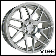 "20"" ACE MESH-7 HYPERSILVER CONCAVE WHEELS RIMS FITS NISSAN 350Z 370Z"