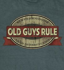 "OLD GUYS RULE "" OAK CASK OVAL "" VINTAGE GOODS / AGED TO PERFECTION "" S/S XL"