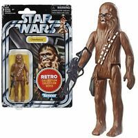 STAR WARS THE RETRO COLLECTION E4 A NEW HOPE CHEWBACCA 3 3/4 INCH ACTION FIGURE