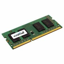 CRUCIAL RAM SO-DDR3 4GB 1600MHZ PC-12800 1,35 VOLT CT51264BF160BJ 8 CHIP