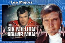 SIX MILLION DOLLAR MAN TV SERIES Fan Made Poster print 11 X 17 Lee Majors