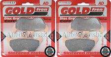 Sinterizadas Delanteras Pastillas De Freno (2x Sets) Bmw K1200 LT (1997 a octubre de 2000) K1200lt