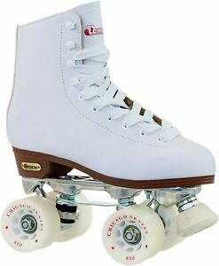 Women's Chicago Deluxe Leather Rink Skates Size 7