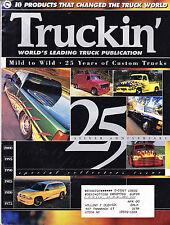 SHIPPED IN A BOX -  Truckin Magazine January 2000 25th Silver Anniversary