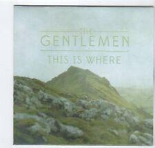 (EZ174) The Gentlemen, This Is Where - DJ CD