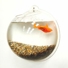 Fish Wall Mounted Bowl / Aquarium Wall Hanging Tank Bubble Bowl - 6.7 Litres