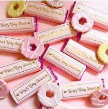 personalised chocolate wedding favours Baby Shower Food Birthday Party Bag