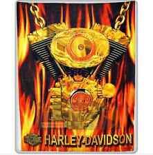 Serviette de Bain Harley Davidson Licence Oficielle drap de plage XL 140x180
