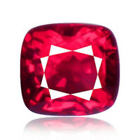Spinel 0.51ct Flawless Look intense red color 100%natural earth mined from Burma