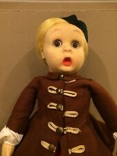 Original Authentic 1930s Lenci Googly Eye Doll