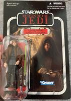 STAR WARS ROTJ Luke Skywalker Lightsaber VC87 Vintage Collection C9+ Unpunched