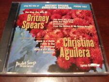 POCKET SONGS KARAOKE DISC PSCDG 1457 BRITNEY SPEARS CHRISTINA AGUILERA CD+G