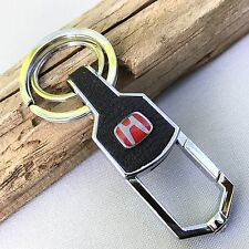 NEW HONDA LOGO BELT CLIP HOOK KEYCHAIN KEY-CHAIN Key Ring KC090