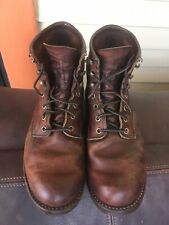 Red Wing Heritage Blacksmith Copper Rough and Tough 3343 size 8 USA pre-owned