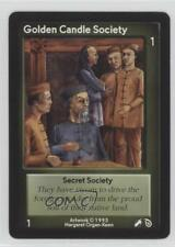 1995 Shadowfist Collectible Card Game #NoN Golden Candle Society Gaming 2ts