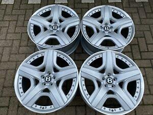"21"" BENTLEY GT GTC SPUR MULINER genuine forged 2pc alloy wheels 3W0601025DA"