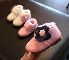 Baby Toddler Girls Child Snow Boots Shoe Infant Kid Casual Warm Trainner Shoes