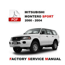 MITSUBISHI 2000 2001 2002 2003 2004 MONTERO SPORT WIRING CIRCUIT DIAGRAM MANUAL