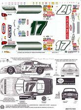 #17 Matt Kenseth Visine Green Chevrolet 1/24 Decals