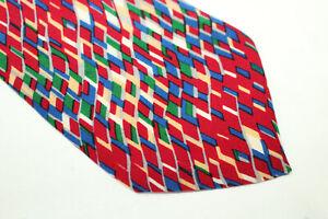 STEFANO ROSI Silk tie Made in Italy F16225