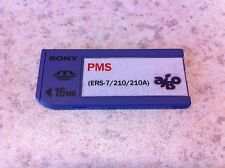 Sony Memory Stick 16 MB PMS para AIBO ers-210 ers-220 ers-7.