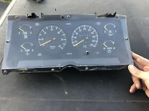 ford XD XE V8 Fairmont Ghia ESP dash cluster to suit XE