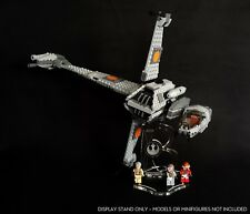 Display stand angled + slots for 75050 B-Wing Fighter (Star Wars-Lego)