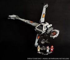 Display Ständer abgewinkelt + Slots für 75050 B-Wing Fighter (Star Wars-Lego)