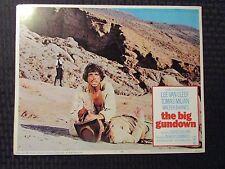 """1968 THE BIG GUNDOWN Original 14x11"""" Lobby Card #7 VG/FN 5.0 Lee Van Cleef"""