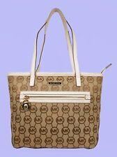 MICHAEL KORS KEMPTON BG/EB/Vanilla Signature Monogram SM Tote Bag Msrp $148
