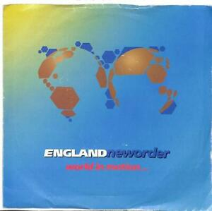"New Order - World In Motion... - 7"" Record Single"