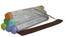 120 Räucherstäbchen Aromatherapie + Stäbchenhalter 6 Packungen a 20 Duftstäbchen